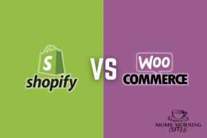 Shopify vs WooCommerce illustration